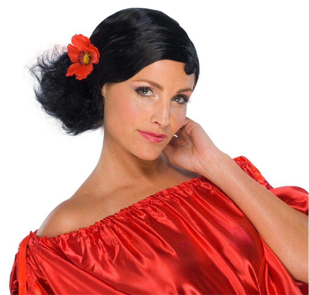 Picture of Senorita Black Wig