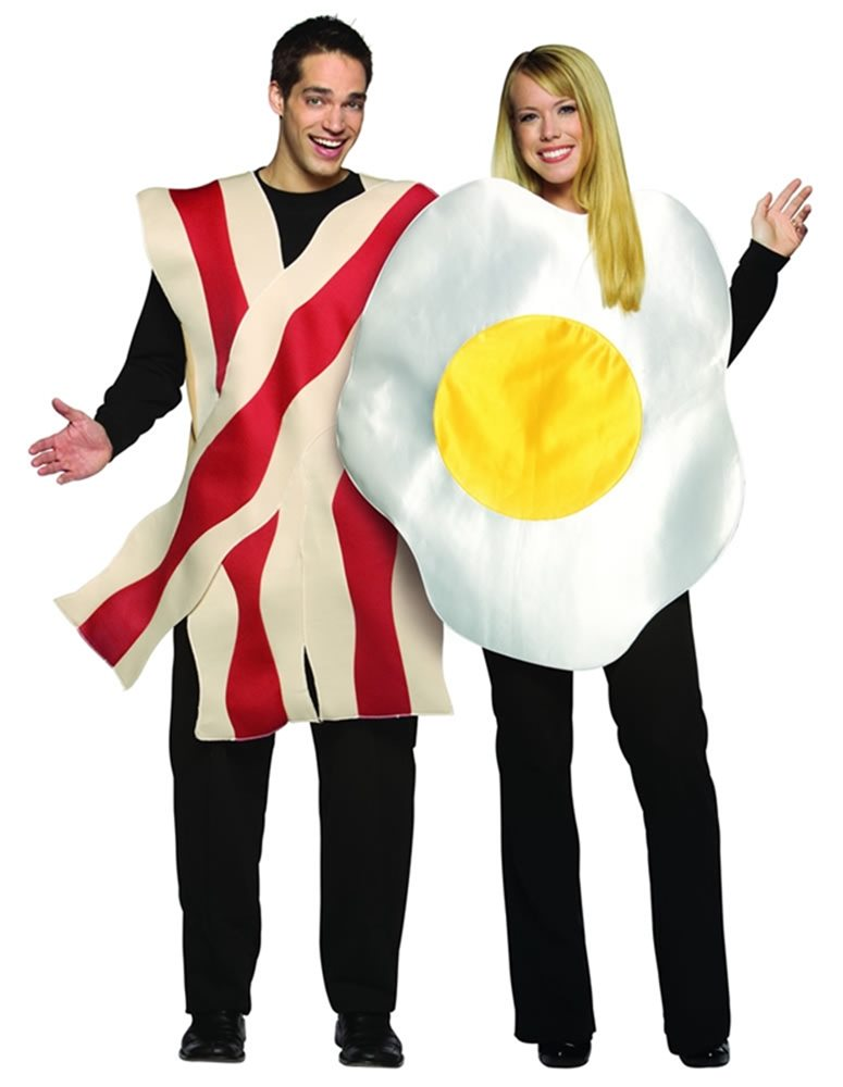 Picture of Bacon and Eggs Adult Costume Set