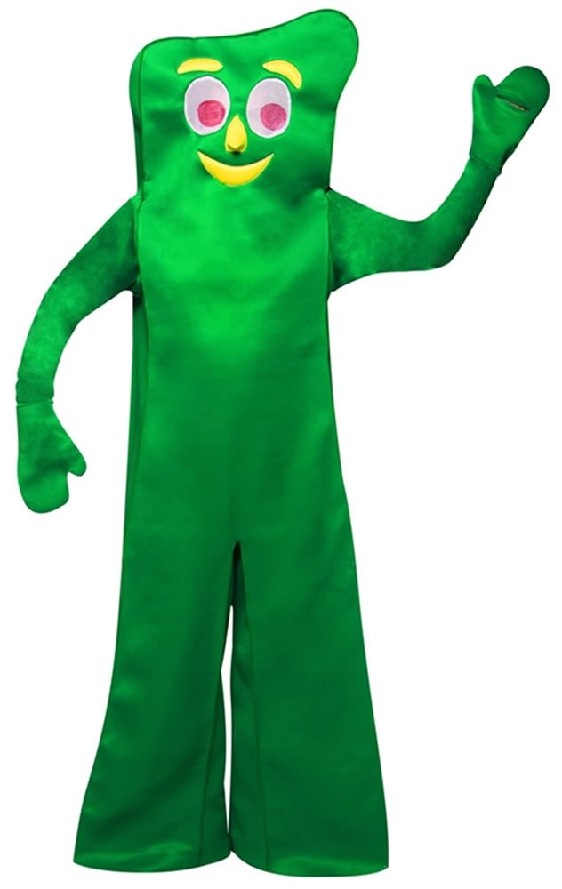 Picture of Gumby Adult Deluxe Costume