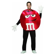 Picture of M&M Red Poncho Teen Costume