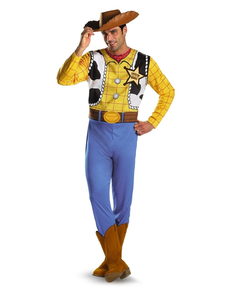 Picture of Toy Story And Beyond! Woody Classic Adult Mens Costume