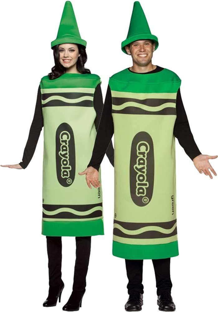 Picture of Crayola Deluxe Green Unisex Costume