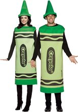 Picture of Crayola Deluxe Green Unisex Costume