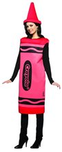 Picture of Red Crayola Deluxe Adult Womens Costume