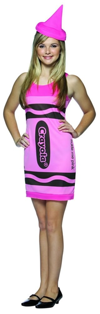 Picture of Crayola Dress Teen Pink Costume