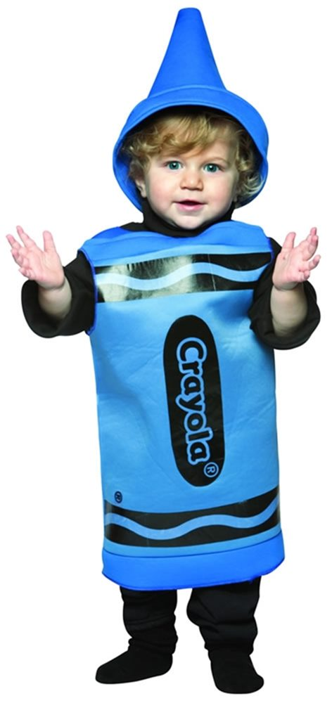 Picture of Crayola Blue Toddler Costume