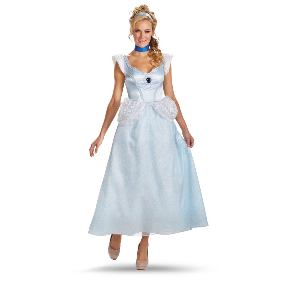 Picture of Cinderella Deluxe Adult Womens Costume