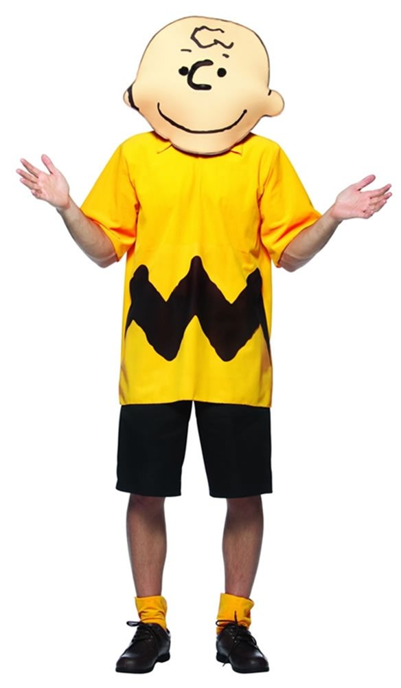 Picture of Charlie Brown Peanuts Adult Mens Costume