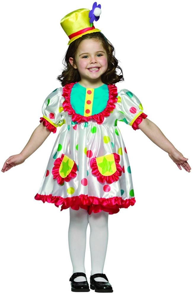 Picture of Clown girl child Costume
