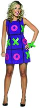 Picture of Tic Tac Toe Dress Adult Womens Costume