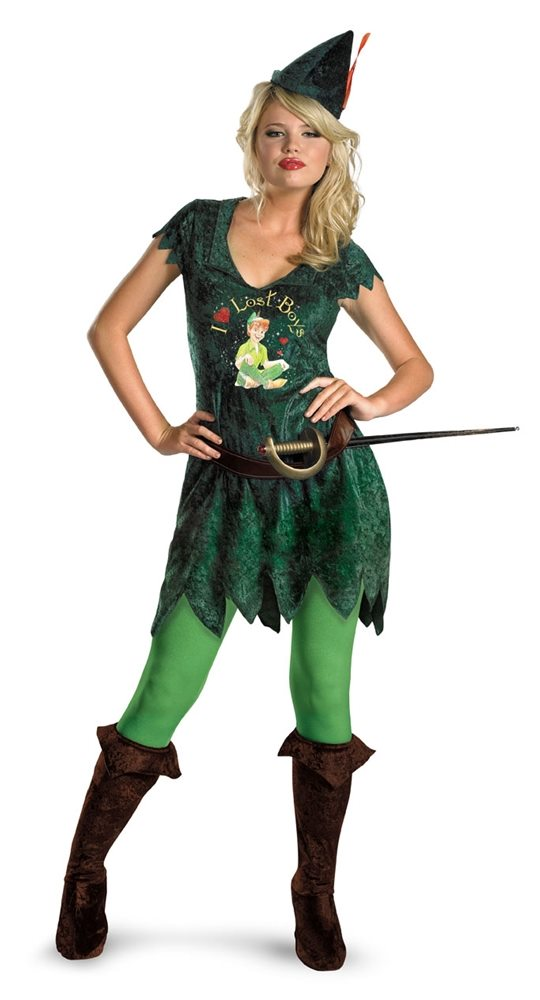 Picture of Sassy Peter Pan Adult Womens Costume
