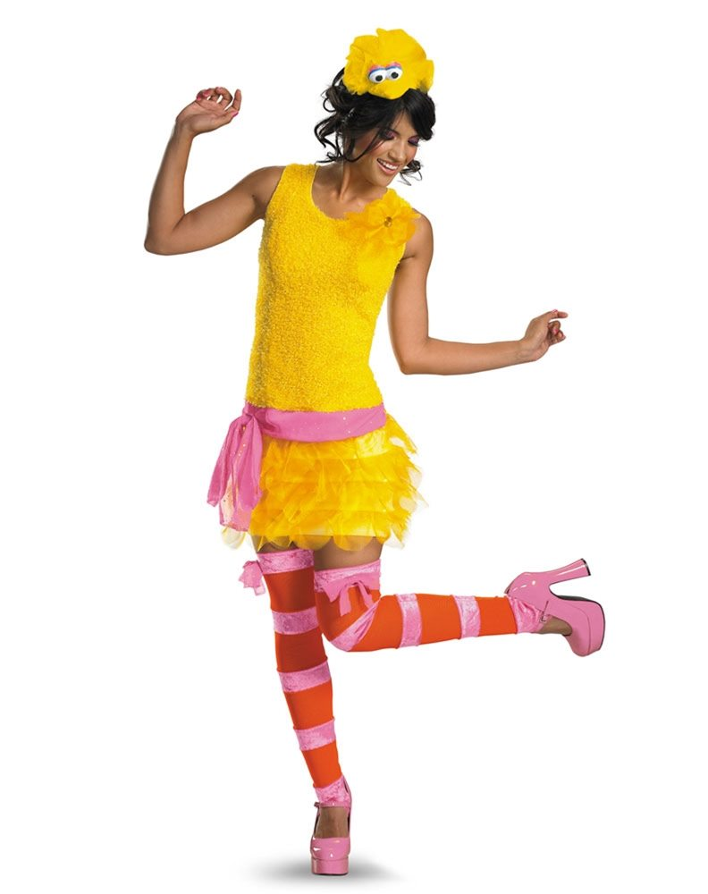Picture of Sassy Big Bird Adult Costume