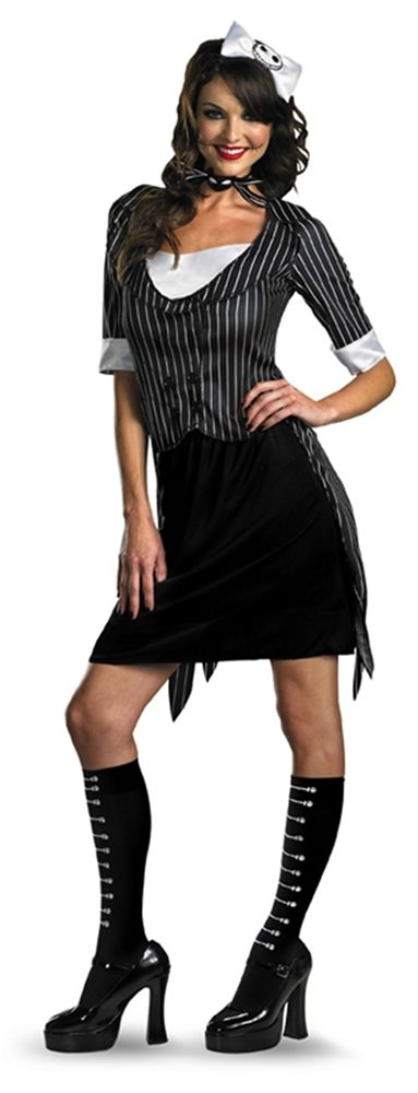Picture of Sassy Jack Skellington Adult Womens Costume