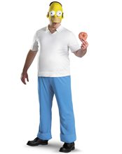 Picture of Homer Simpson Deluxe Adult Mens Costume