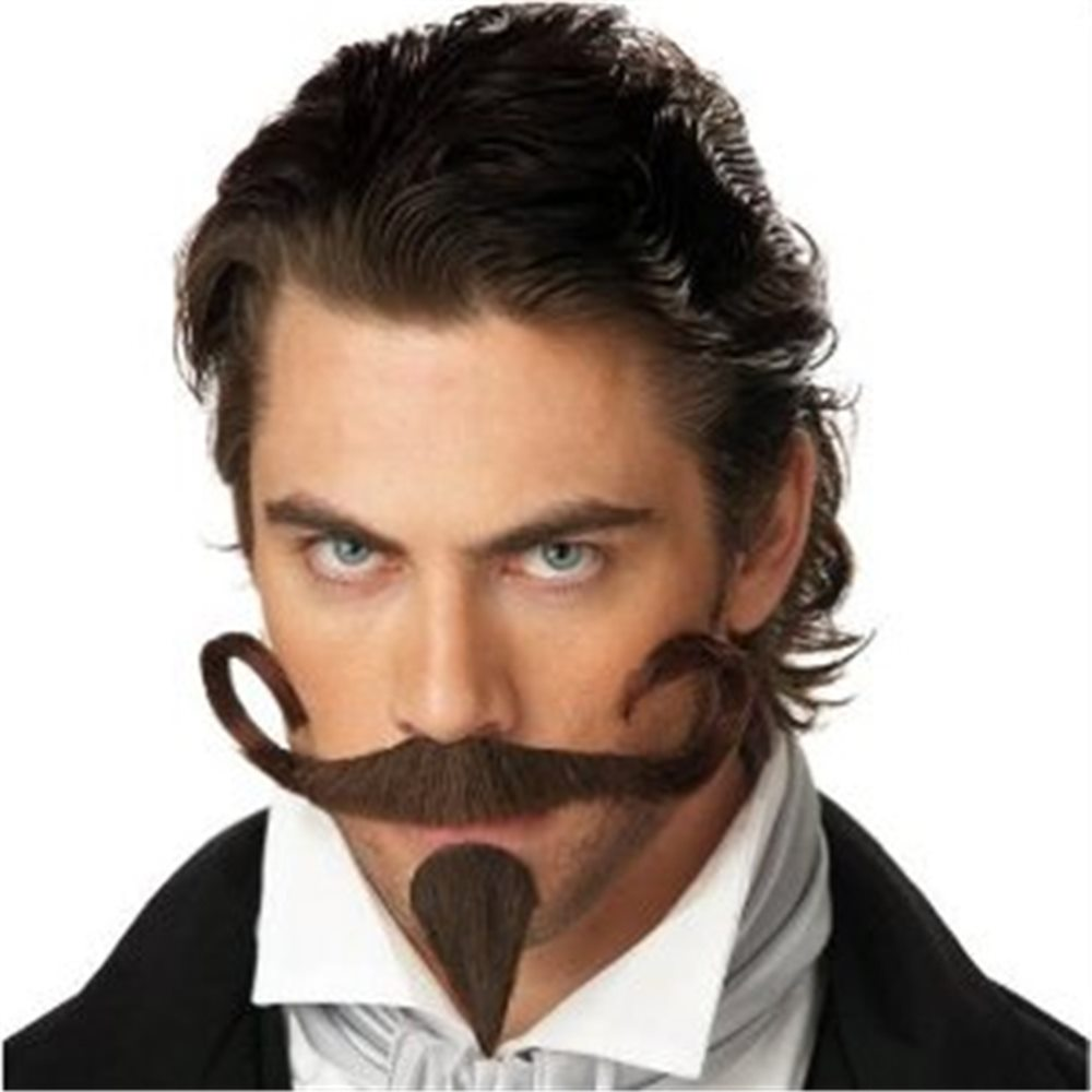 Picture of Gambler Moustache with Chin Piece