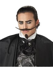 Picture of Dandy Moustache with Chin Patch Brown