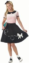 Picture of 50s Poodle Skirt Adult Womens Costume