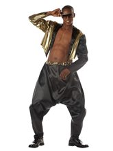 Picture of Old School Rapper Adult Mens Costume