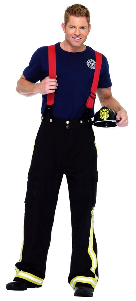 Picture of Fire Captain Adult Mens Costume