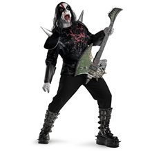 Picture of Metal Mayhem Plus Size Adult Mens Costume