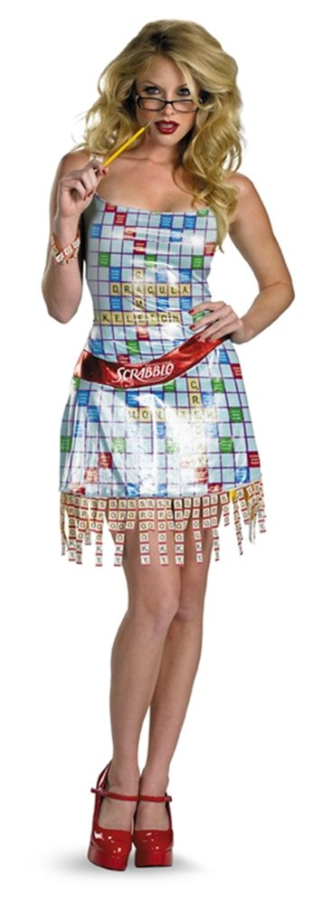 Picture of Scrabble Sassy Adult Womens Costume