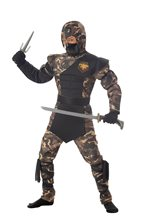 Picture of Camouflage Special Ops Ninja Child Costume