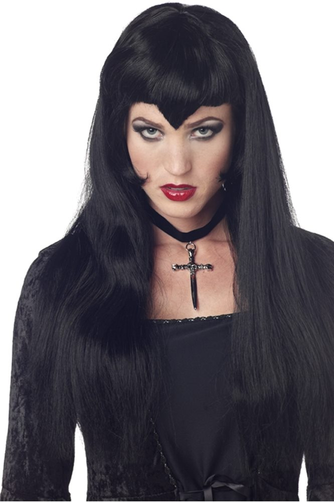 Picture of Black Vampiress Wig