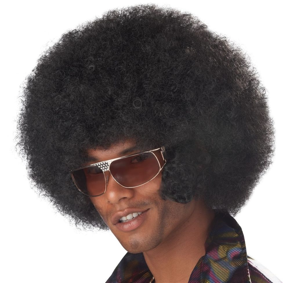 Picture of Afro Chops Black Wig