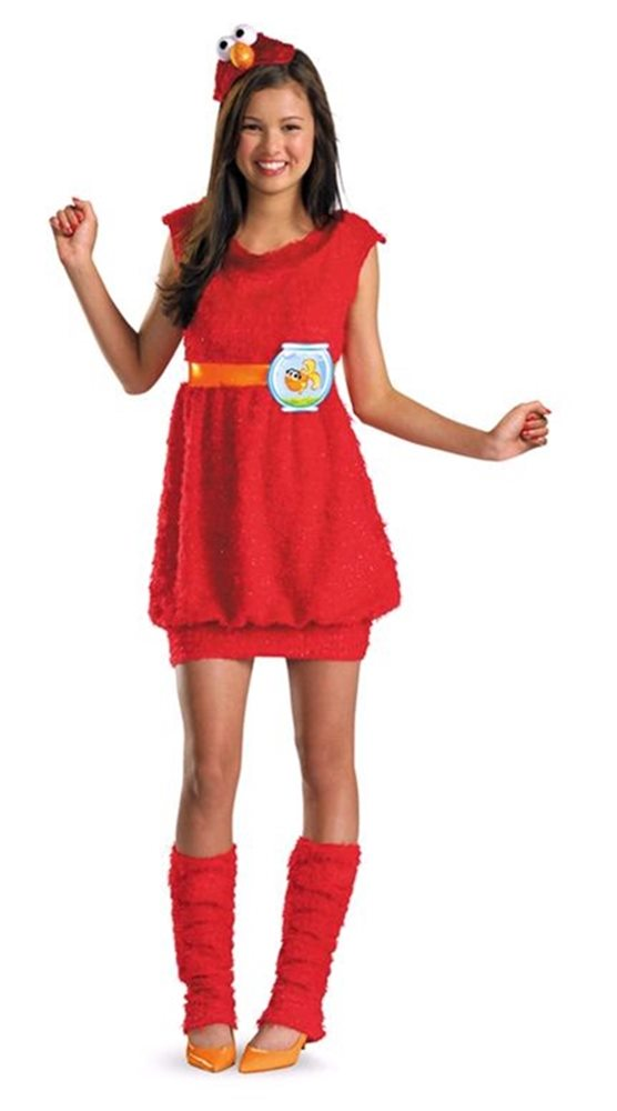 Picture of Elmo Dress Girls Costume