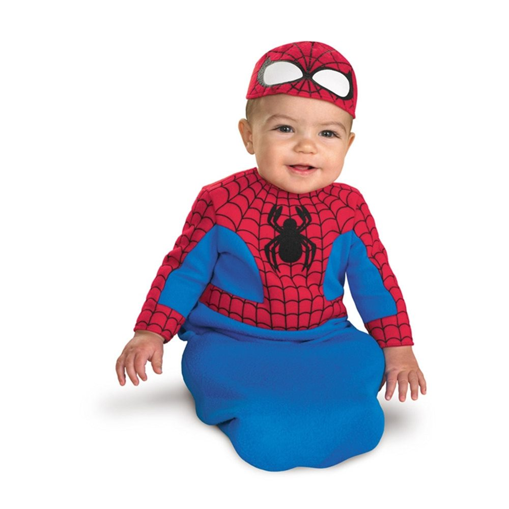 Picture of Spider-Man Bunting Infant Costume