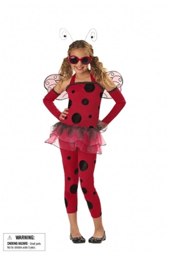 Picture of Love Bug Red Child  Costume
