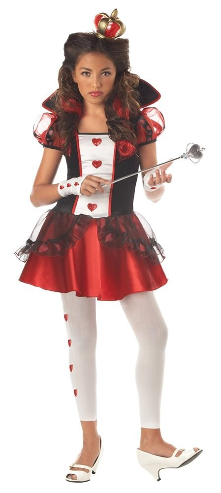 Picture of Queen of Hearts Tween Costume