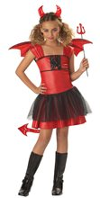 Picture of Devil Darling Girls Costume
