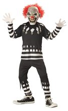 Picture of Psycho Clown Glow in the Dark Child Costume
