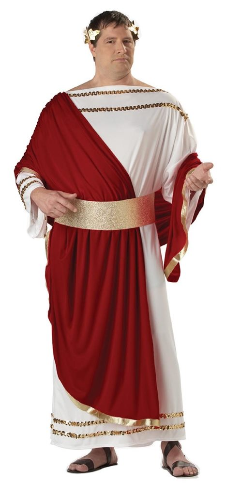 Picture of Caesar Adult Mens Plus Size Costume