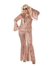 Picture of Discolicious Plus Size Adult Womens Costume