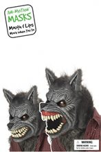 Picture of Werewolf Ani-Motion Adult Mask