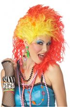 Picture of Red and Yellow True Colors Wig