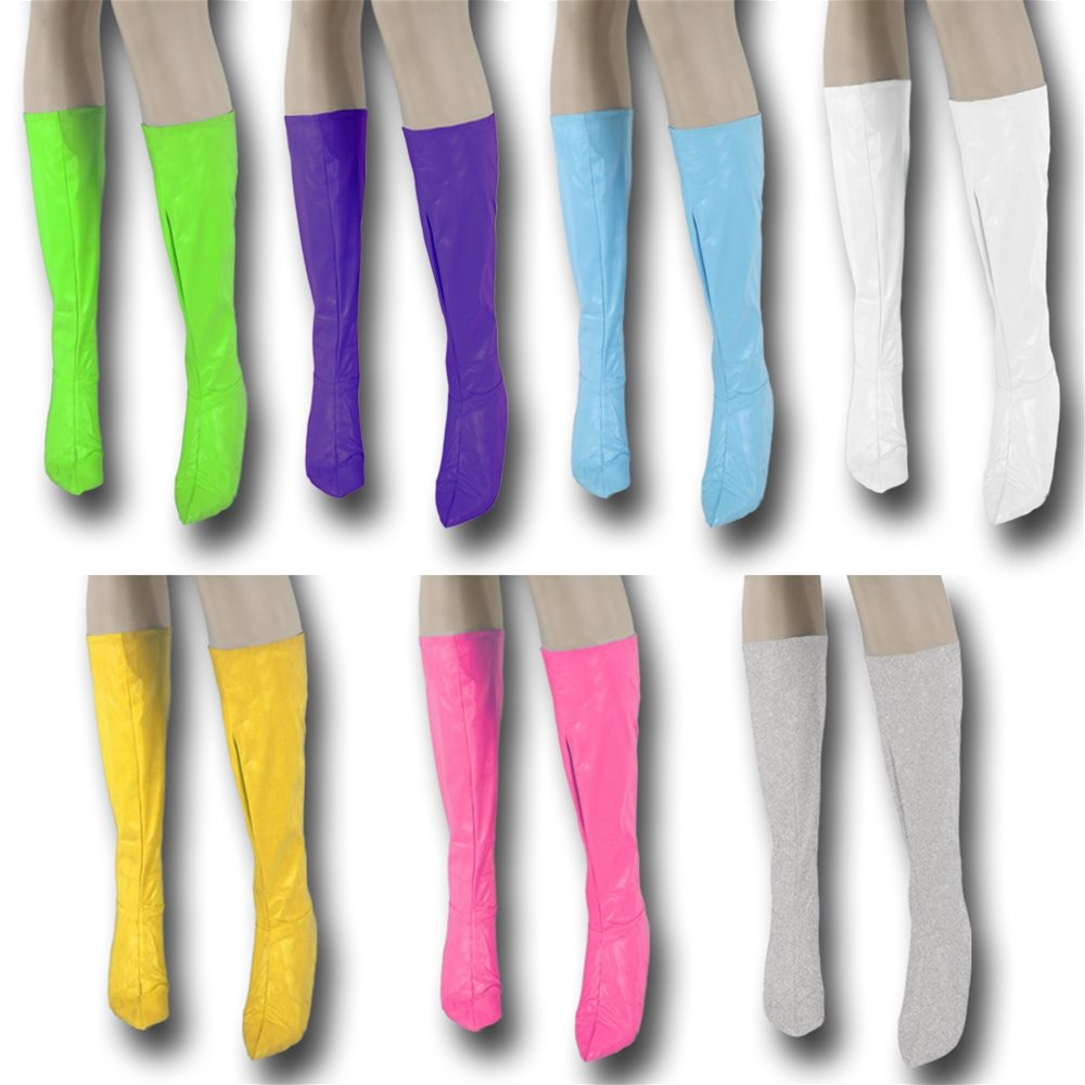 Picture of Knee High Vinyl Boot Covers (More Colors)