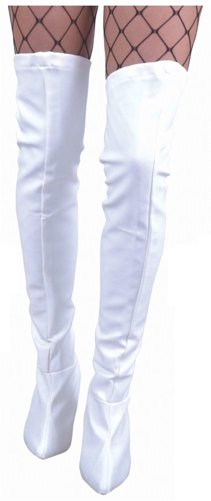 Picture of Thigh High Vinyl Boot Covers (More Colors)