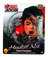 Picture of Michael Jackson Headset Mic