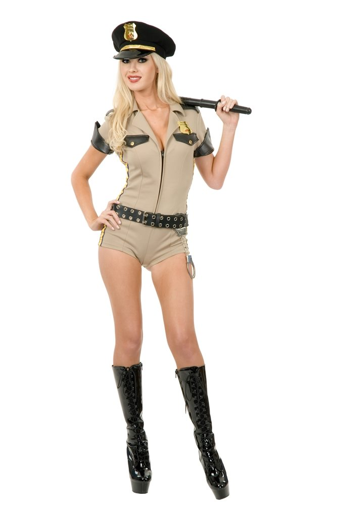 Picture of Sexy Reno Sheriff Adult Womens Costume