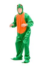Picture of Frog Jumpsuit Adult Costume