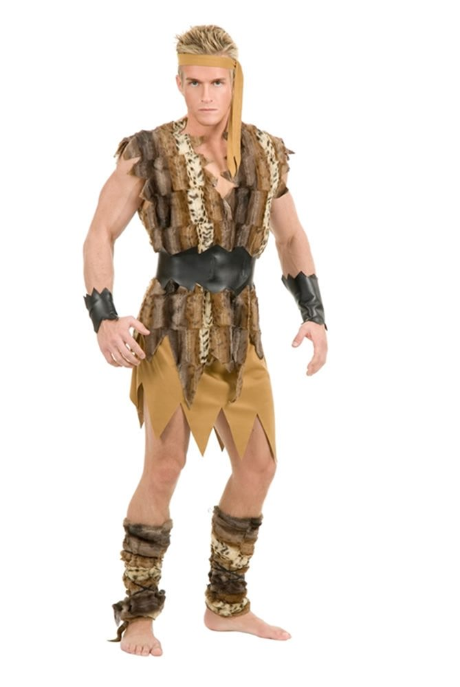 Picture of Cool Caveman Adult Mens Costume