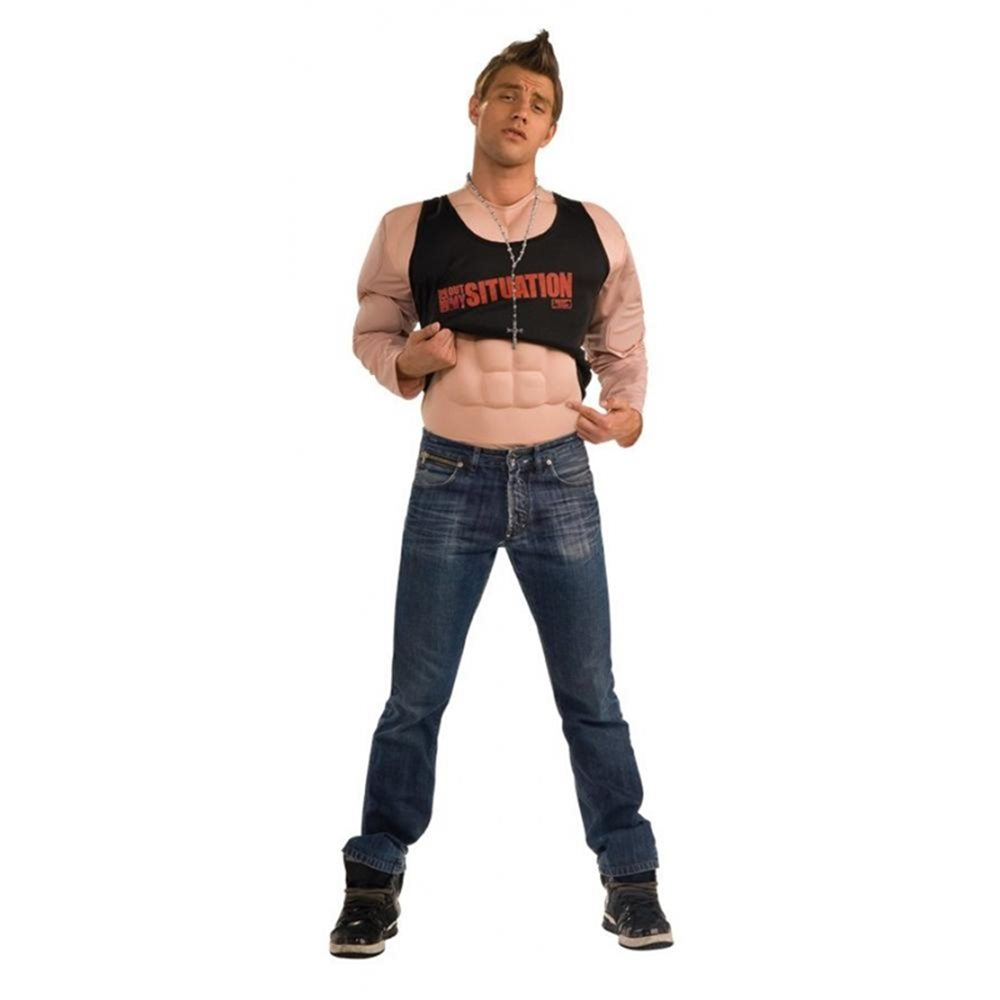 Picture of Jersey Shore Situation Deluxe Muscle Shirt Costume