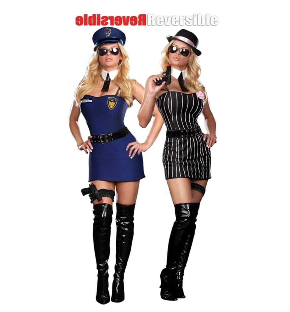 Picture of The Dirty Double Reversible Adult Womens Costume