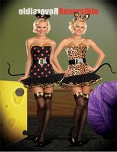 Picture of When the Cats Away Reversible 5pc Costume