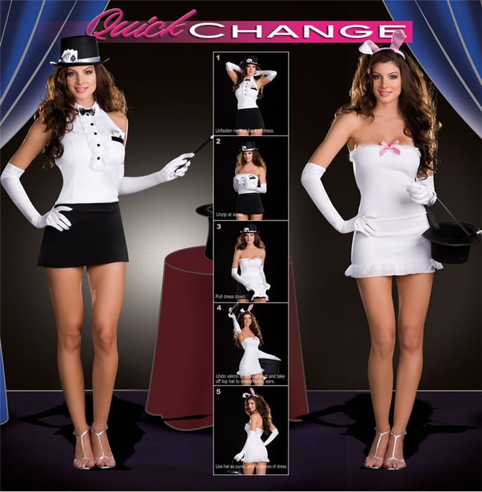 Picture of Magician Rabbit Changers 5pc Costume