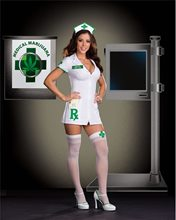 Picture of Medical Mary Jane Adult Womens Costume