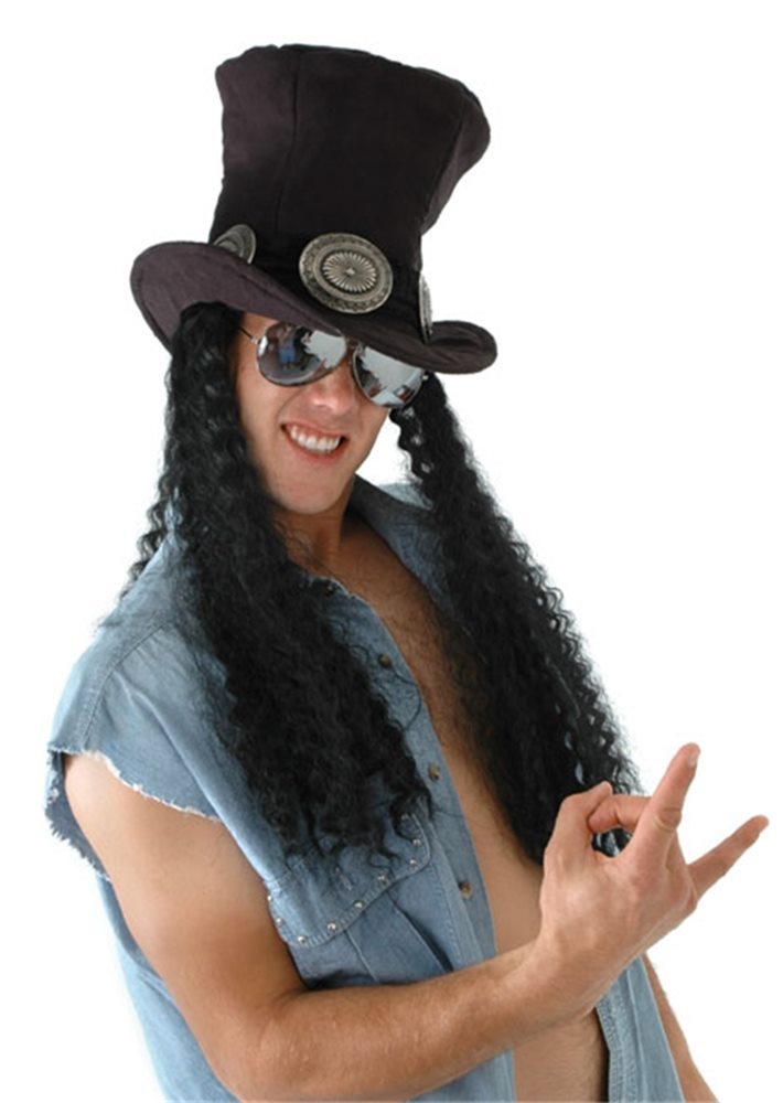 Picture of Guitar Superstar Hat with Wig